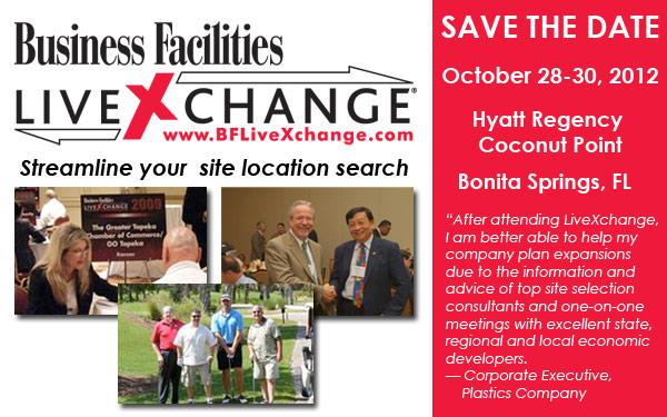2012 Business Facilities LiveXchange