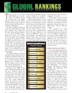 Business Facilities Global Rankings Report