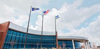 Rendering of new Boeing facility in West Jordan, UT