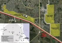 Huntley, IL – Data Center Sites. (Credit: Google Earth)