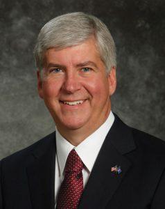 Michigan Gov. Rick Snyder.
