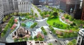 KeyBank Foundation Donates Funds To Revitalize Cleveland Public Square
