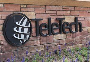 TeleTech Building Sign.