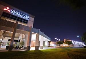 Mitsubishi facility.