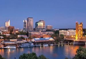 Sacramento skyline.