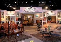 Flexsteel's showroom space.