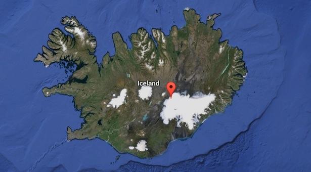 Iceland Volcano.