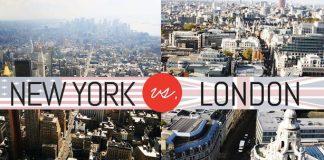 New York vs. London.