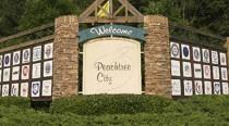 Golf Cart Bridge in Peachtree City, GA.