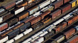 Railcars.