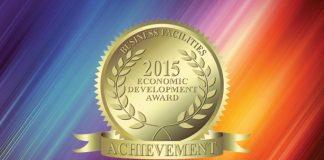 2015 Economic Development Achievement Award 2015.