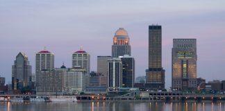 Louisville, KY Skyline.