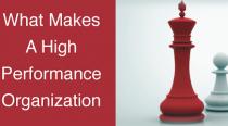 Chess pieces symbolizing high performance organizations.