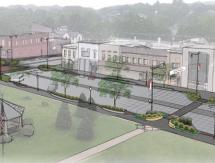 "Municipal ""Green Streets"" Redevelopment Project Wins 2015 Iowa ASLA Award"