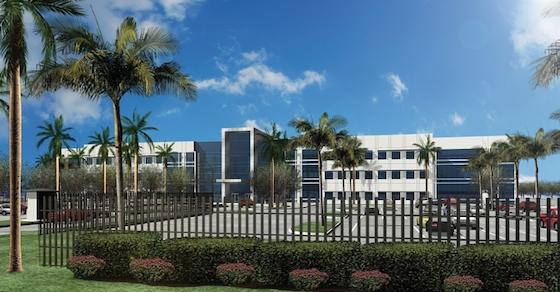 NBCUniversal Telemundo Building Global HQ In Miami