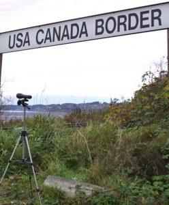 Seattle Vancouver border