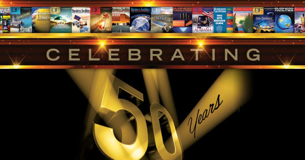 Business Facilities anniversary