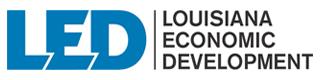 Louisiana Economic Development (LED) logo.