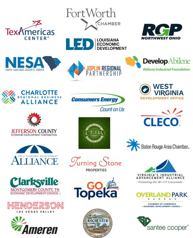 Business Facilities LiveXchange sponsors