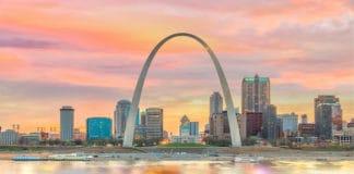 St. Louis, MO skyline