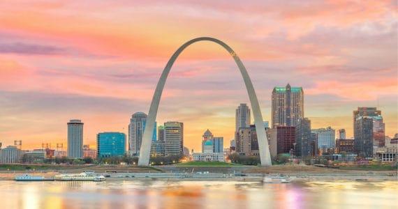St. Louis, MO skyline Accenture