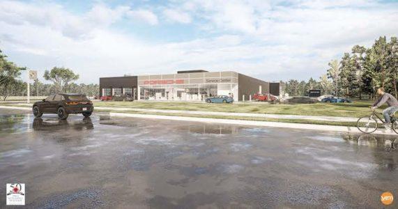 Porsche North American headquarters