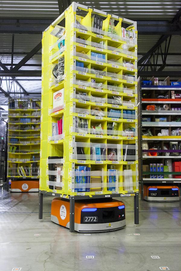 Amazon robotics, Alberta